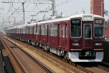 260531阪急1301F発特急運用 007