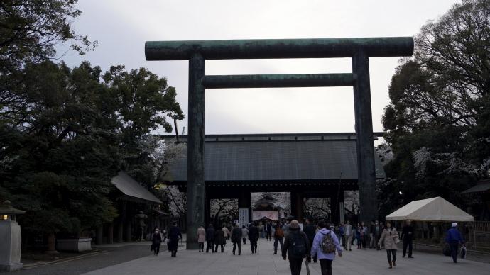 靖国神社&桜20140331-6