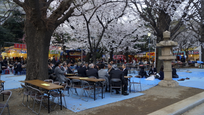 靖国神社&桜20140331-1