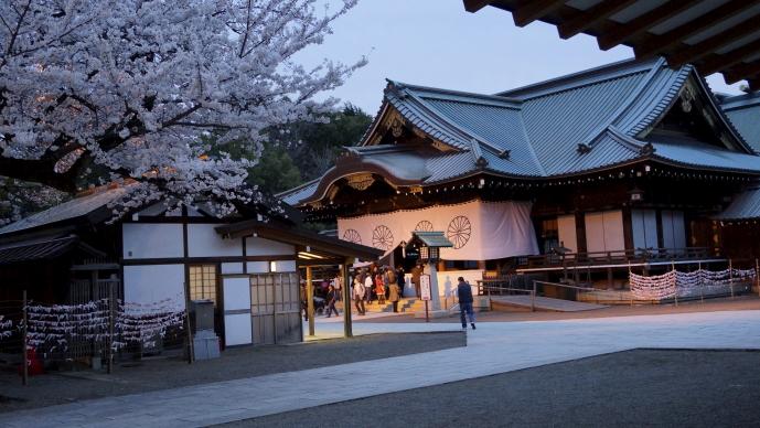 靖国神社&桜20140331-社