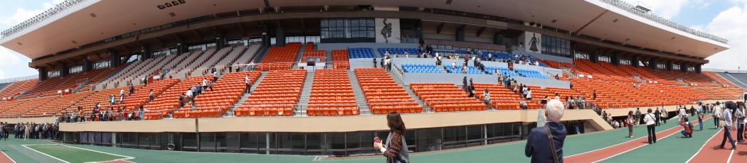 国立競技場パノラマ20140507-1