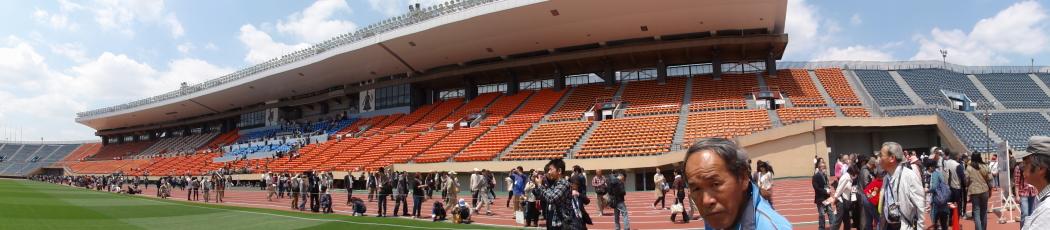 国立競技場パノラマ写真20140507-5