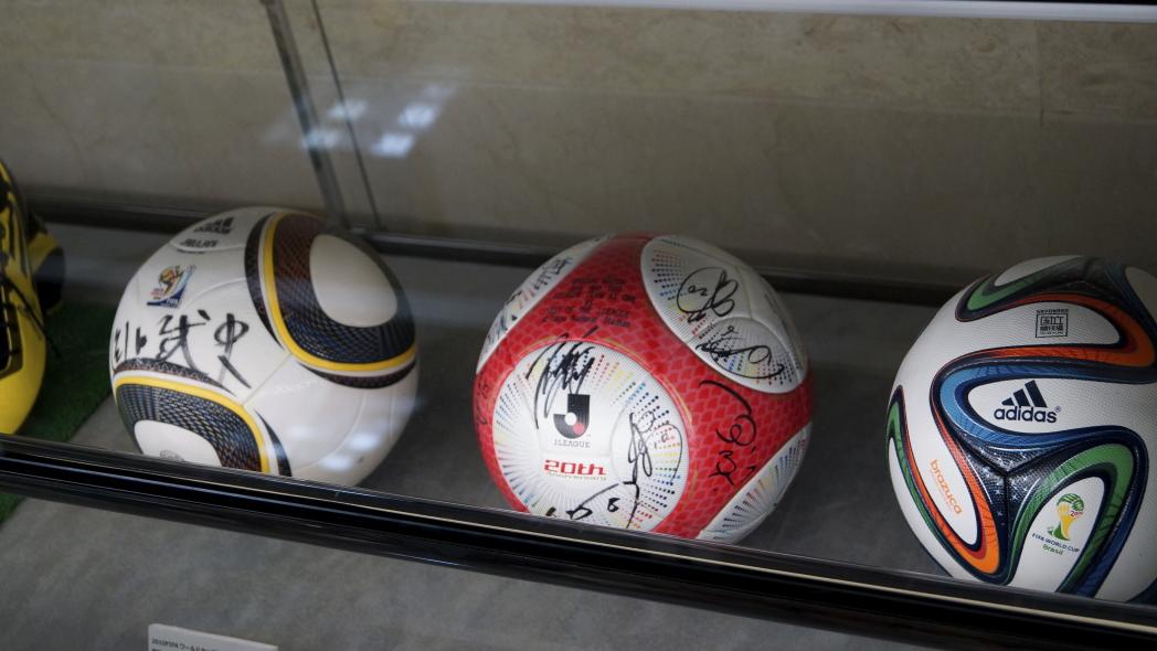 国立競技場ツアー サッカーボール