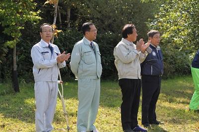 2014年10月08日 マッサン・ミズナラ記念植樹014(400)