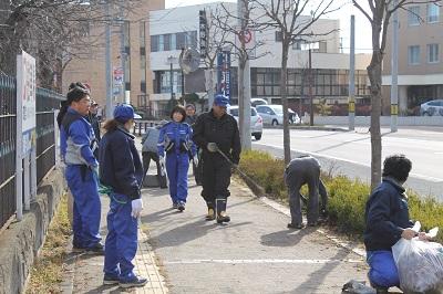 2014年11月09日 「リタロードを守る会」清掃活動009(400)