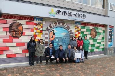 2014年11月16日 小樽商大 シャッターアート 2027