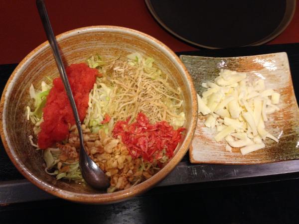 明太子とチーズ2