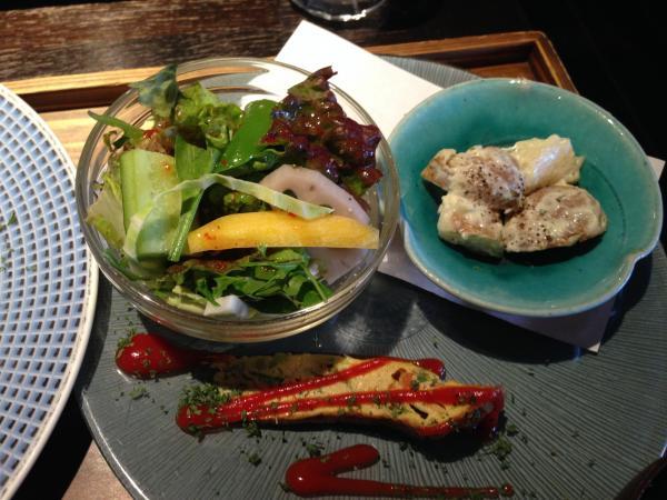 本日の旬野菜料理3種盛り4