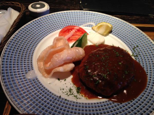 ハンバーグ皿7