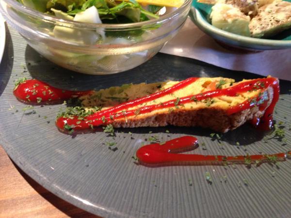 旬野菜たっぷりオムレツ6