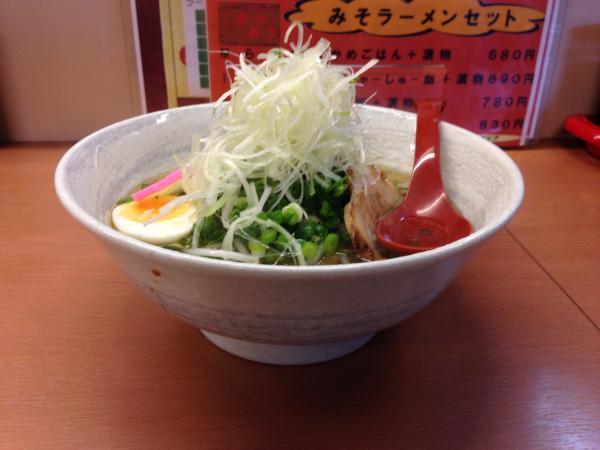 ねぎ醤油ラーメン5