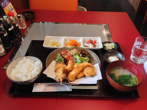 ミックスフライ定食4