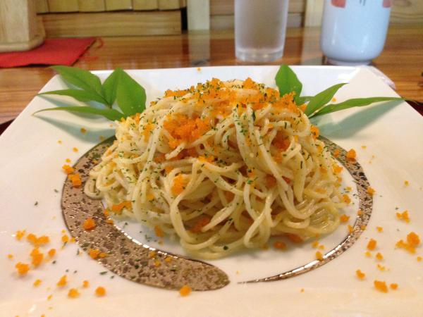 からすみスパゲッティ6