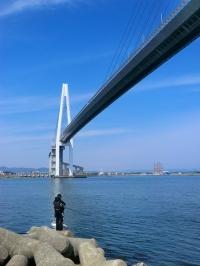 新港の渡し 堀岡から新湊大橋