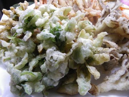ふきのとうと野菜の天ぷら