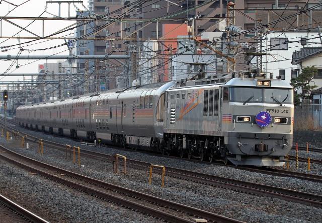 EF510-510 3055レ カシオペアsddd