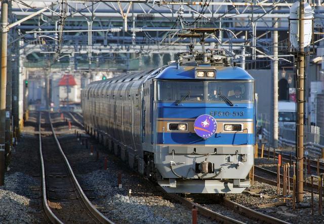 カシオペア南浦和EF510-513