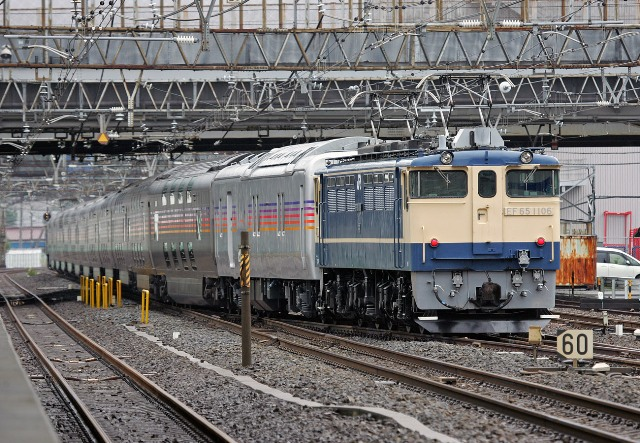 EF65-1106 回9484レ  後撃ち 馬橋 6