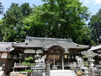 笠山荒神社 本殿