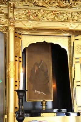 東大寺指図堂・法然上人像