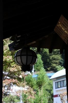 法起院・灯籠