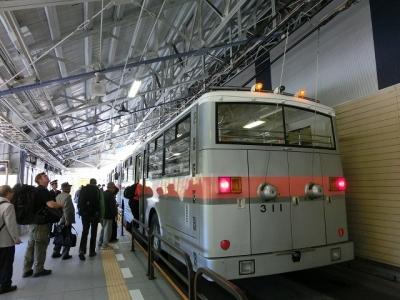 扇沢から関電トロリーバス