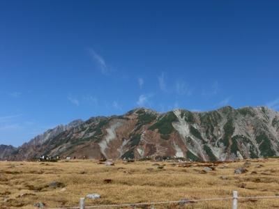 左から剣岳、剣御前、別山