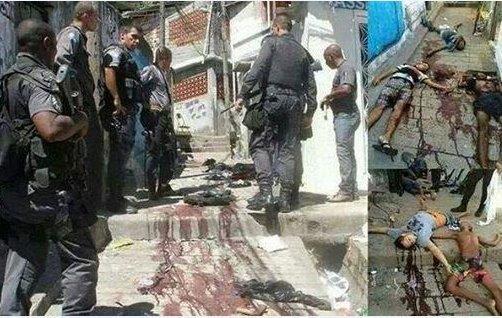 ブラジル【死の部隊】がホームレスチルドレンを射殺