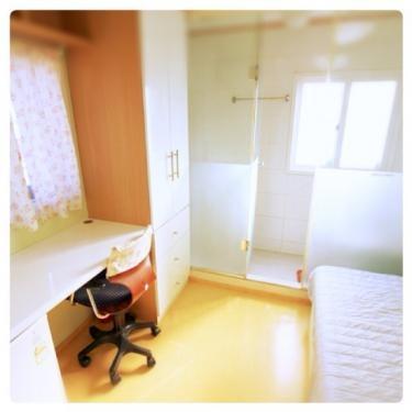 コシウォンのお部屋の例。小さなお部屋ですがなれると快適です^^