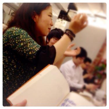 日本語と韓国語の表現の違い、また言葉の難しさなども語って頂きました^^