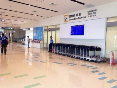 那覇国際線ターミナルが新しくなってからは初めて訪れました^^