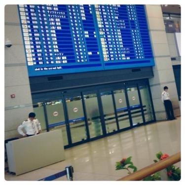 空港到着して滞在先まで意外と時間はかかります…。
