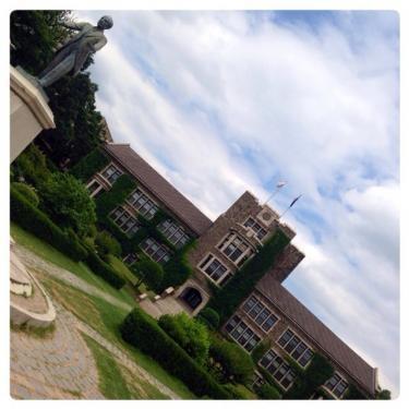 延世大学 夏のキャンパス。