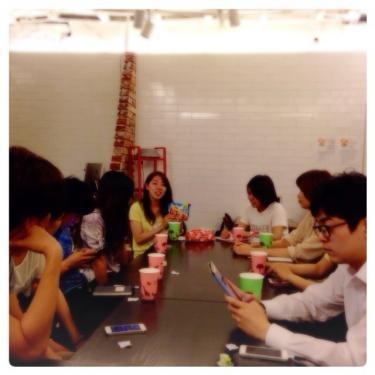夏学期から留学をスタートしたメンバーの初参加も多かったです^^