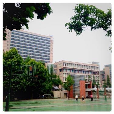 雨上がりの国民大学のグランド。