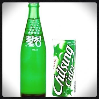 サイダーはもはや必要な韓国飲料水?笑