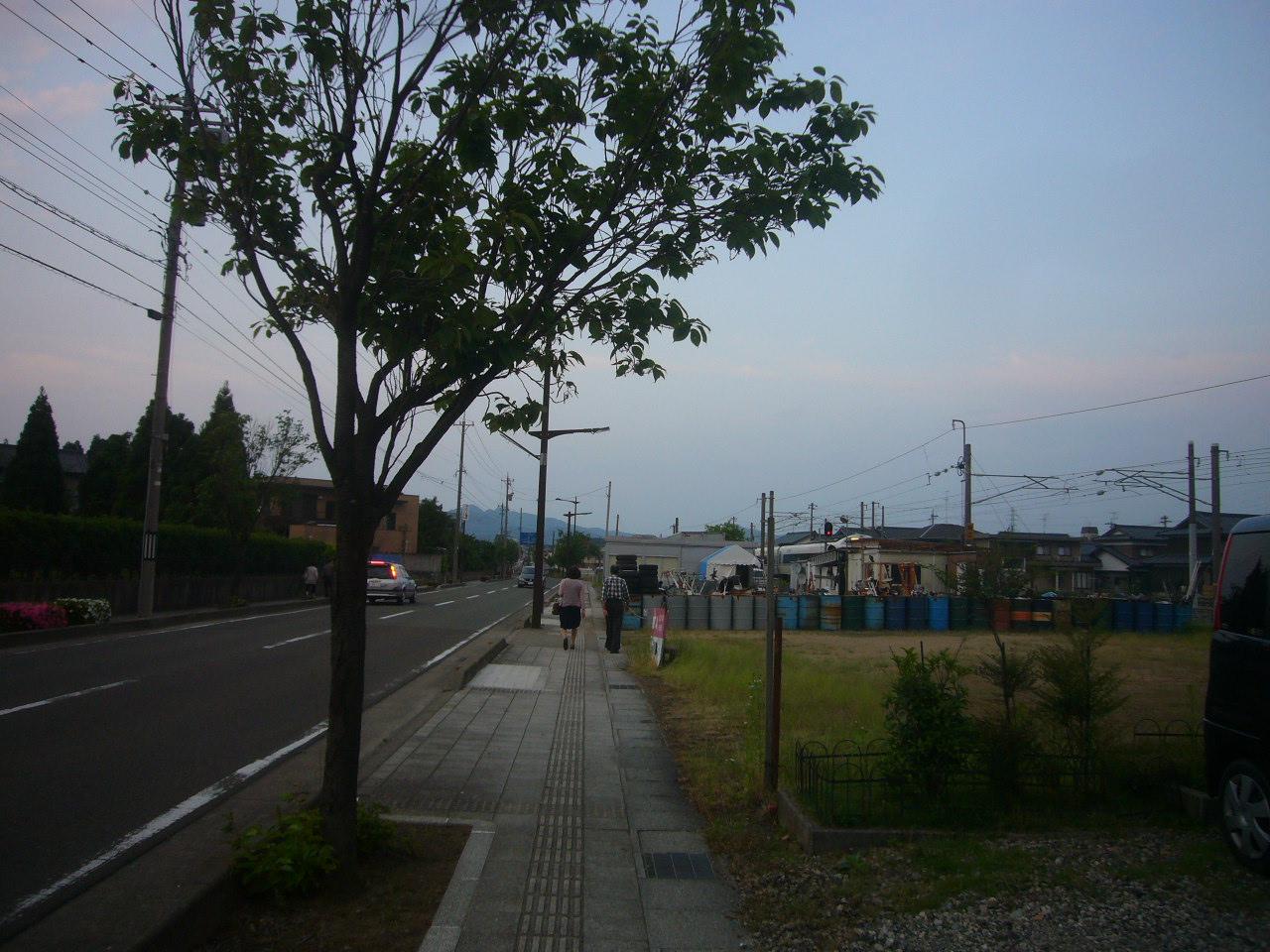 サンドーム~JR鯖江駅 H26.5.25