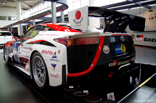 LEXUS Gazoo racing LFA Nürburgring 24H rear view