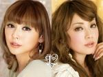 PUFFY(パフィー) 吉村由美 大貫亜美 セクシー 顔アップ カメラ目線 カネボウ ポスター 化粧品 唇 ぶっかけ用 高画質エロかわいい画像5