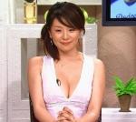 大橋未歩 テレビ東京 女子アナウンサー セクシー 胸チラ 巨乳おっぱいの谷間 地上波キャプチャー 高画質エロかわいい画像2