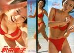 釈由美子 セクシー ハイレグ ビキニ水着 おっぱいの谷間 笑顔 高画質エロかわいい画像72