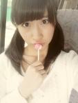 AKB48 石田晴香 セクシー キャンデー舐め 顔アップ カメラ目線 ツインテール 誘惑 ロリータフェイス 顔射用 ぶっかけ用素材 金玉 高画質エロかわいい画像36