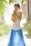 剛力彩芽 セクシー 笑顔 カメラ目線 ショートヘア 麦わら帽子 スカート シースルー タンクトップ 健康的 高画質エロかわいい画像21