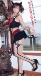 大島麻衣 セクシー 小悪魔 コスプレ ミニスカート ガーターベルト パンチラ 元AKB48 高画質エロかわいい画像45