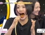 HKT48 兒玉遥 セクシー 舌出し 顔アップ 口開け 地上波キャプチャー 高校生アイドル 高画質エロかわいい画像7