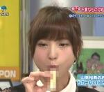 元AKB48 篠田麻里子 セクシー 食事顔 咥え モザイク 擬似フェラ顔 地上波キャプチャー 高画質エロかわいい画像90
