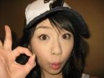 立花麻理 セクシー TVQ九州放送 女子アナウンサー OKサイン 顔アップ カメラ目線 唇 高画質エロかわいい画像3 顔射ぶっかけ用素材 手コキ