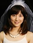 福田彩乃 セクシー ウエディングドレス カメラ目線 ものまね芸人 エロかわいい画像11 顔射ぶっかけ用素材