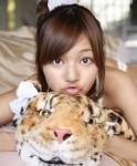 にわみきほ セクシー キス顔 顔アップ カメラ目線 唇 ポニーテール 高画質エロかわいい画像6