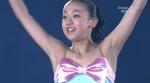 フィギュアスケート選手 浅田真央 セクシー 衣装 脇 万歳ポーズ 地上波キャプチャー 高画質エロかわいい画像12